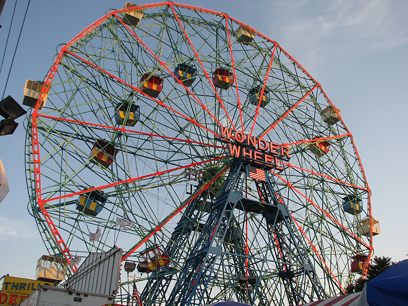 Coney Island Wonder Wheel New York City