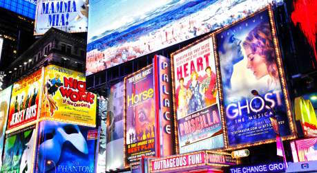 Best Broadway Musicals and Off Broadway Shows