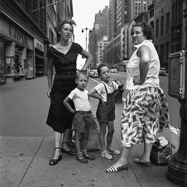 1950s Street Photos of New York