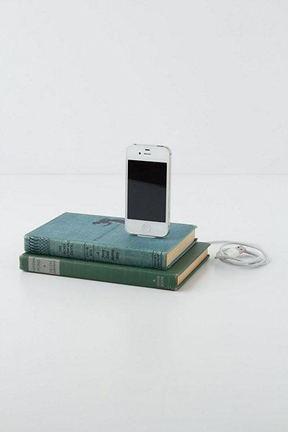 Vintage Book iPhone Charger