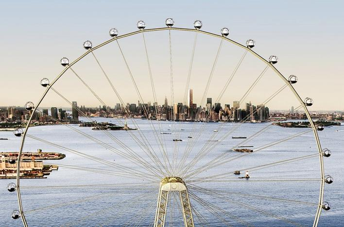 NYC to get 'world's largest' Ferris wheel