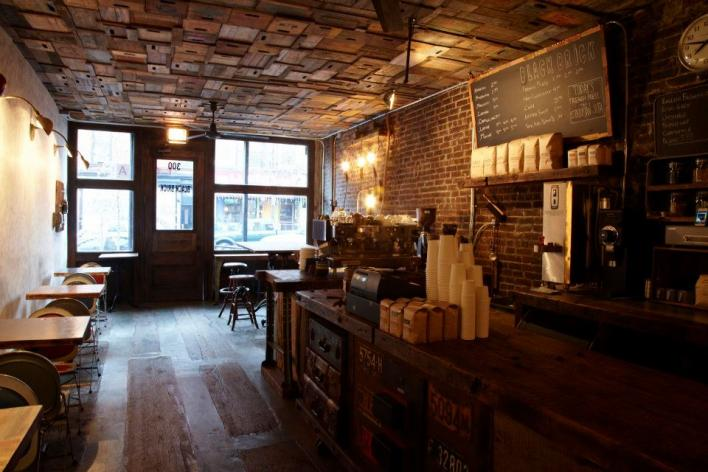Black Brick Coffee - Interior