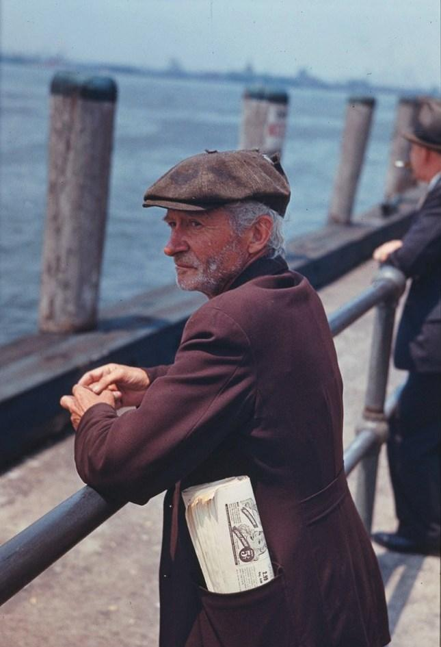 Man in Battery Park - 1941