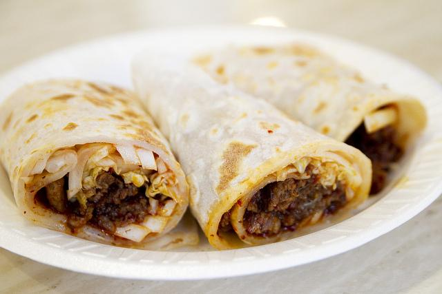 Braised Beef Wrap