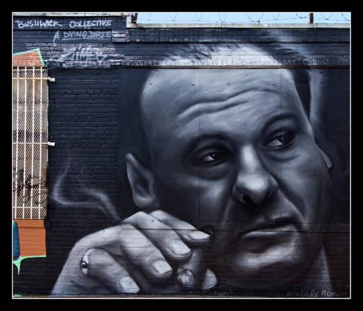 The Bushwick Collective - James Gandolfini