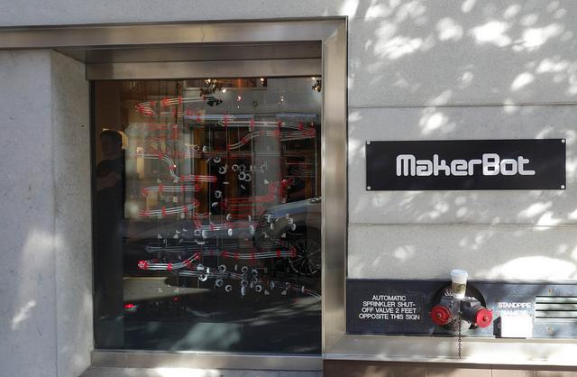 Makerbot Store Exterior