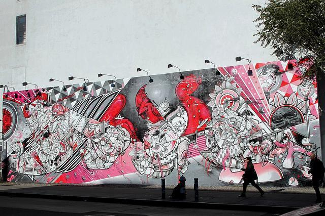 How and Nosm on the Bowery 1