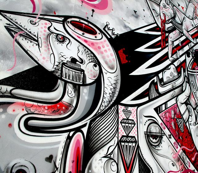 How and Nosm on the Bowery