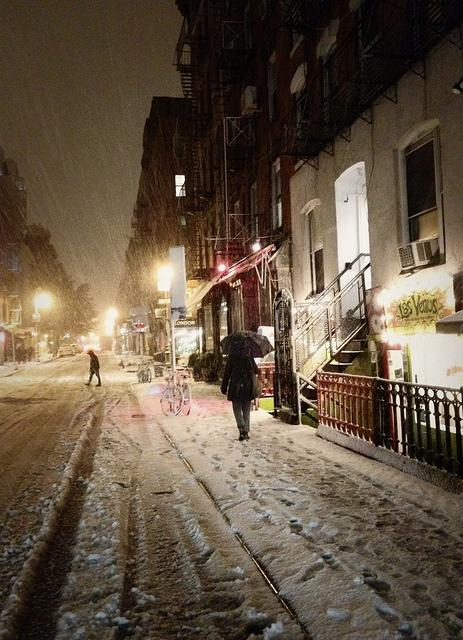 New York City Snow - Lower East Side | Flickr - Photo Sharing!