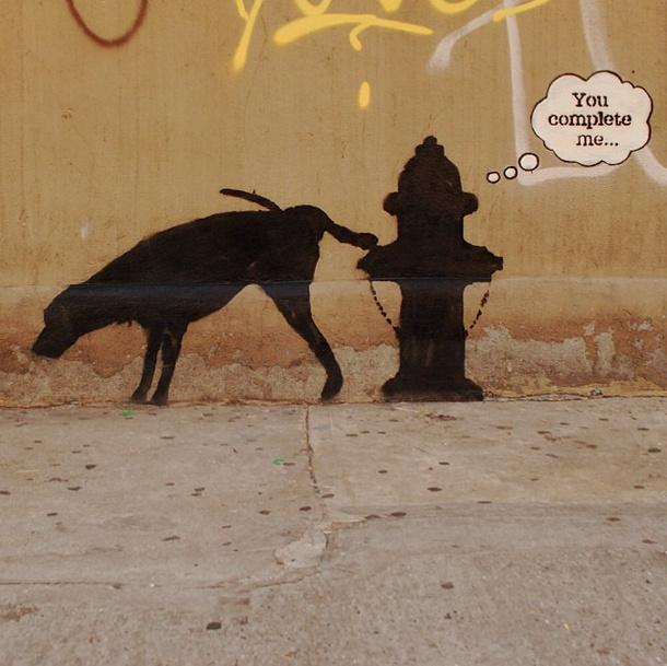Banksy - You Complete Me