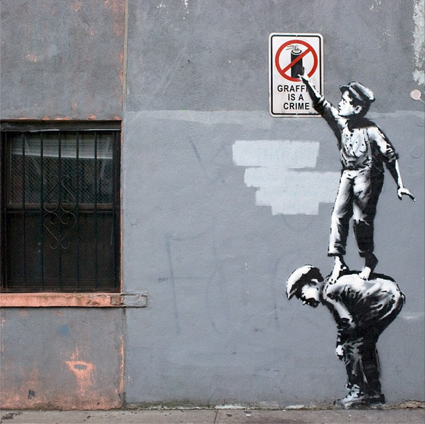 Banksy - The Street Is In Play