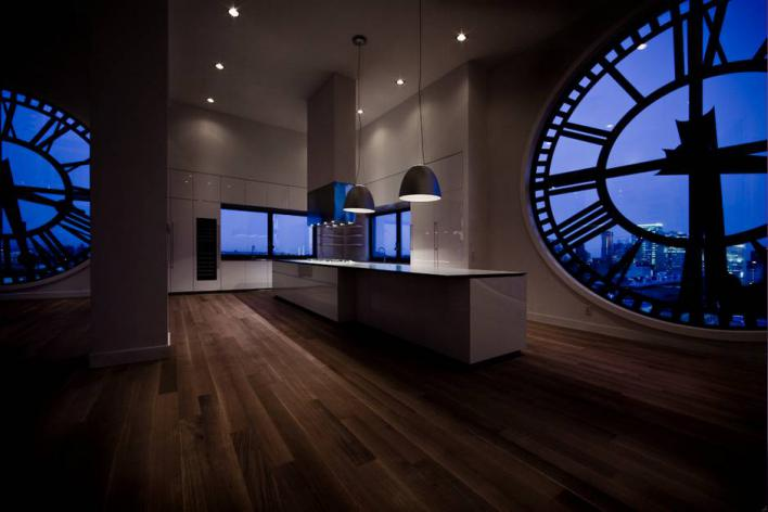Brooklyn Clock Tower Home - Night