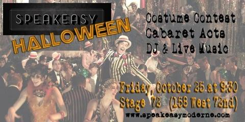 Speakeasy Moderne Halloween Party