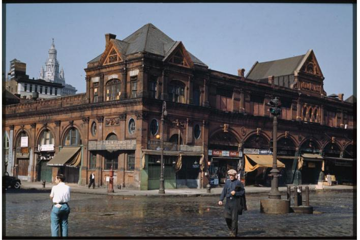 Fulton fish Market NYC 1941