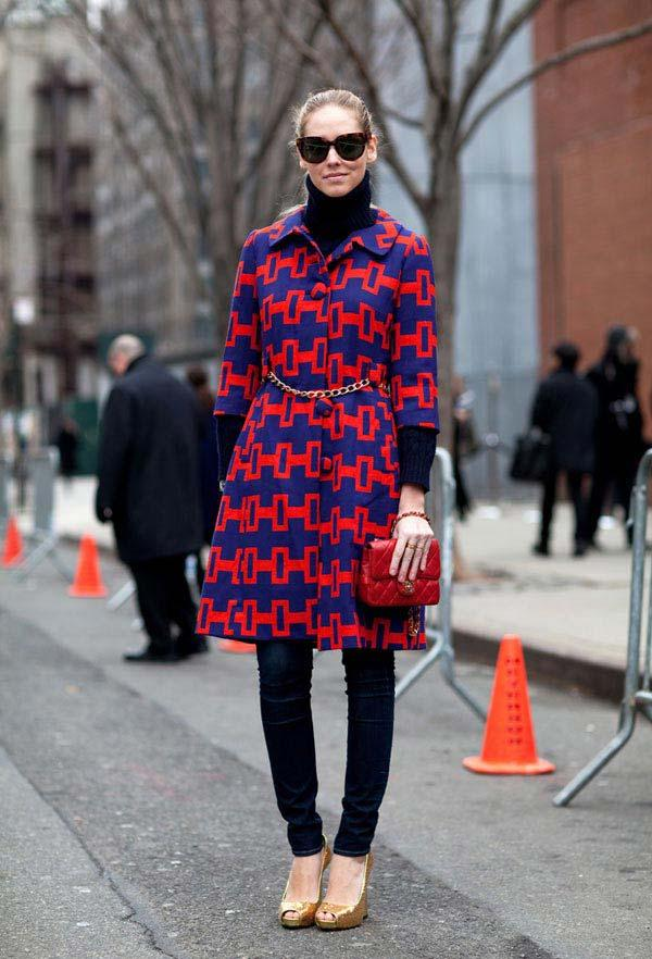 Street Style Fall 2012 - New York Fashion Week Street Style - Harper's BAZAAR