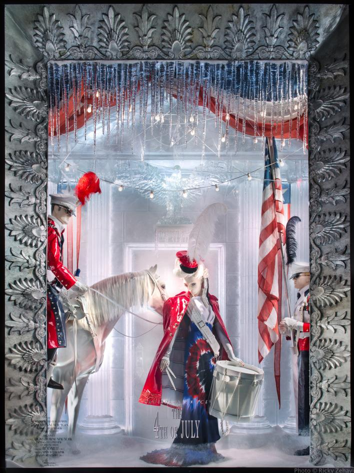 Bergdorf Holiday Window 2013 - July 4th