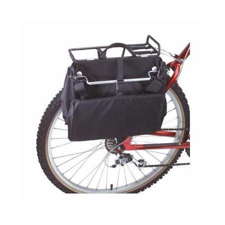 Inertia Metro Basket Pannier Bicycle Bag - Black
