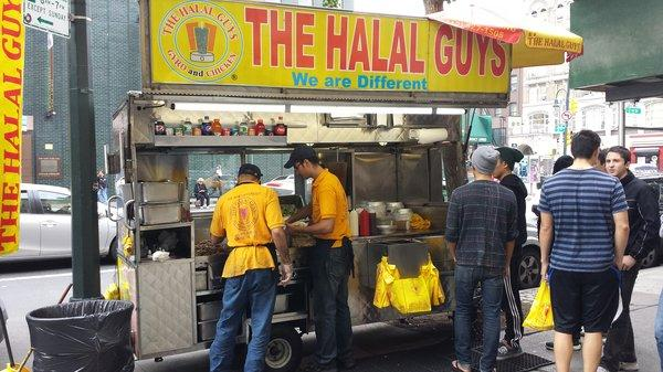 The Halal Guys 53rd & 6th