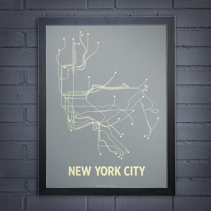 New York City Line poster