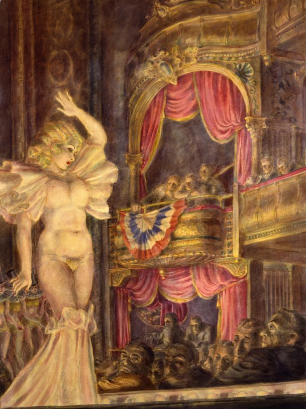 Star Burlesque - Reginal Marsh
