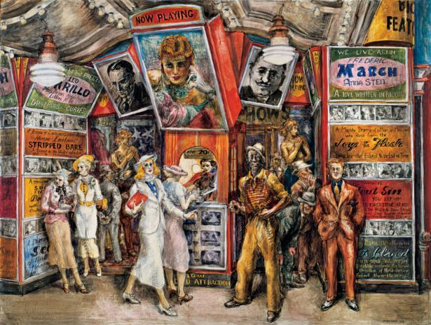 Twenty Cents Movie - Reginal Marsh
