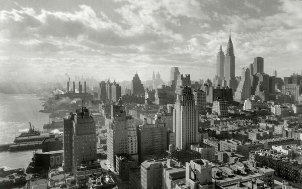 New York City Skyline in Early 1900s