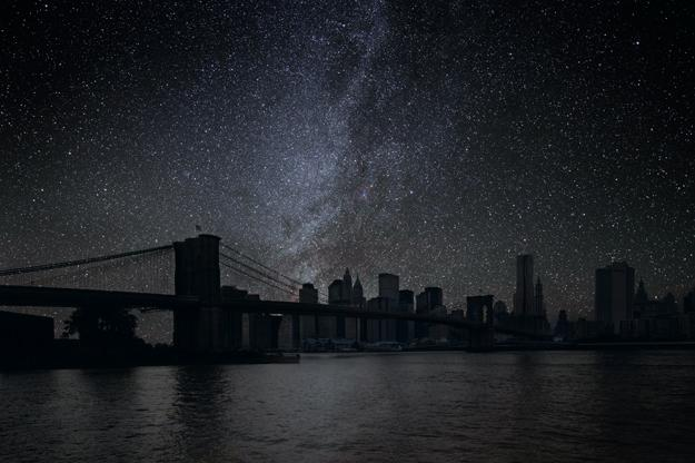 NYC Night Sky