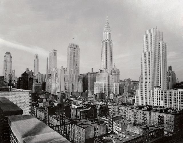 New York Skyline Early 1900