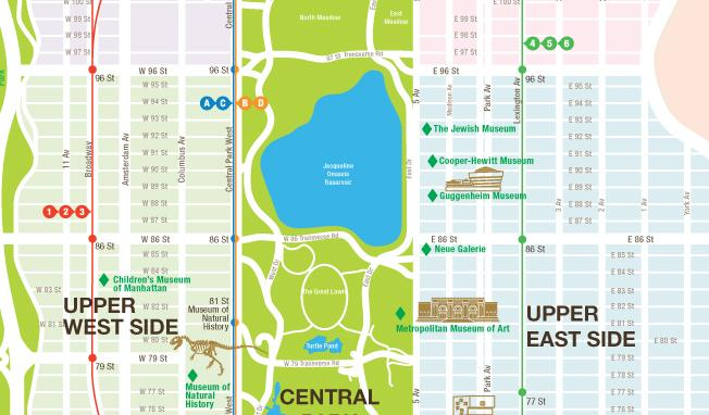 zeroperzero NYC Map back - detail
