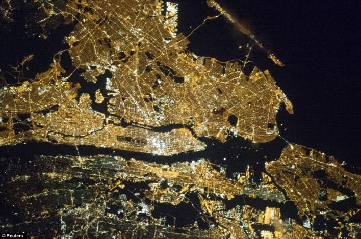 New York City from the Space Station
