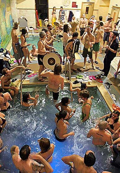 Russian Banya Party