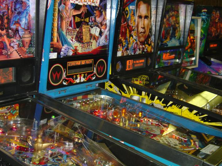Modern Pinball Machines
