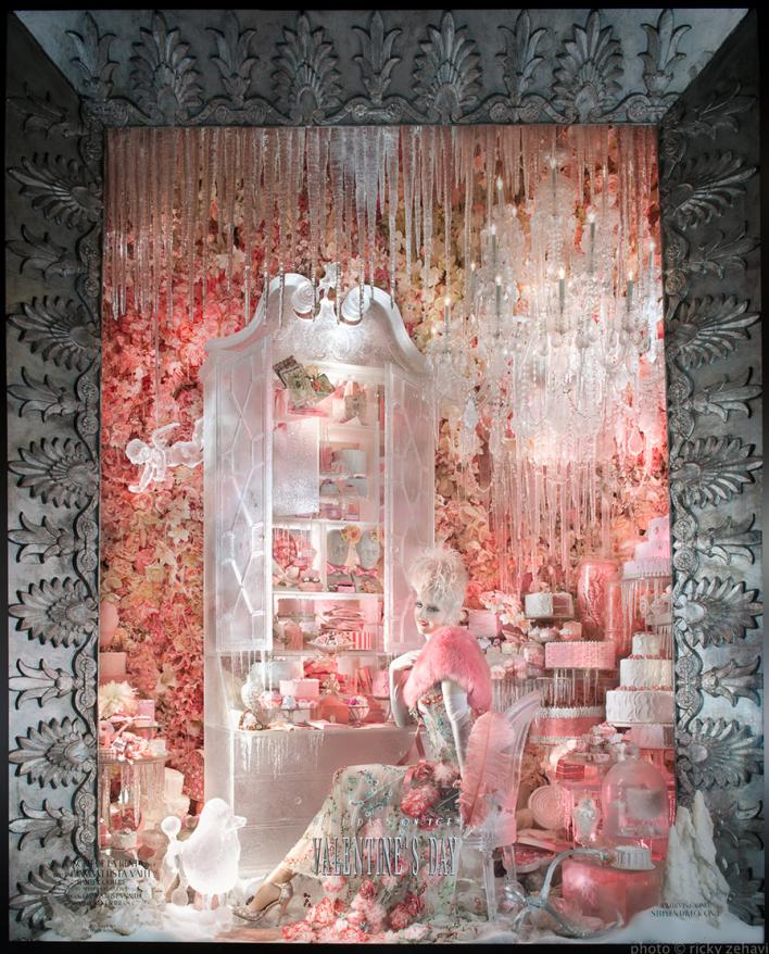 Bergdorf Holiday Window 2013 - Valentines's Day