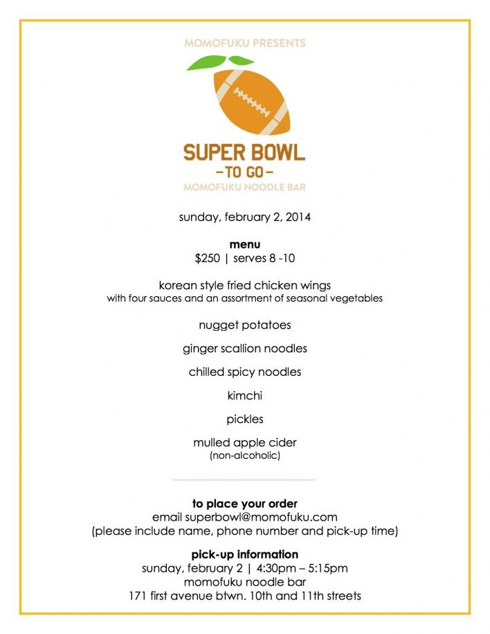 momofuku noodle bar superbowl menu