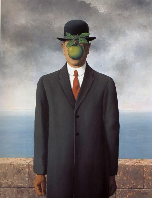 Magritte: The son of man
