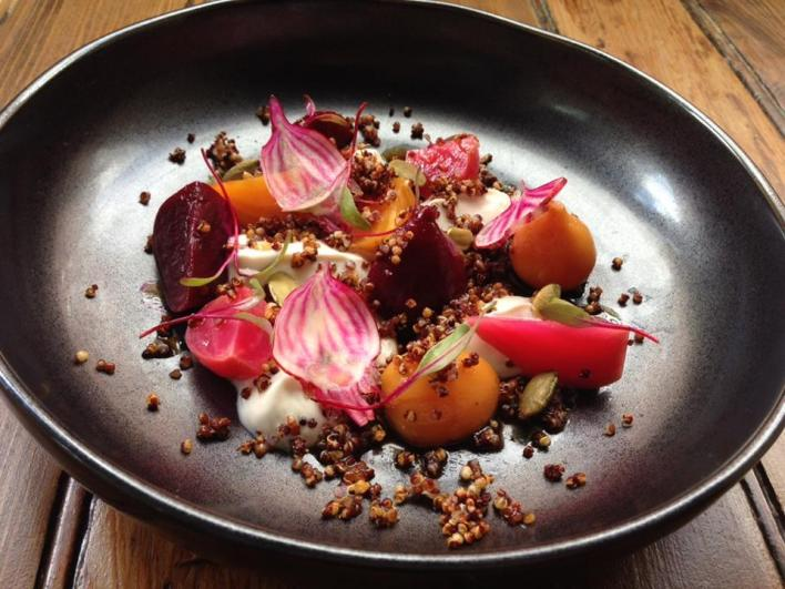 Tuome Beet Root Salad