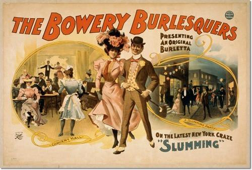 The Bowery Burlesquer