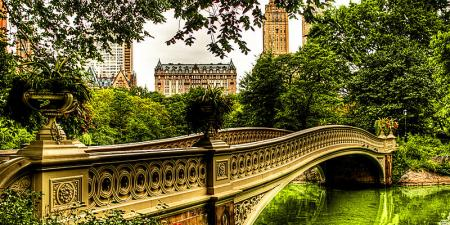 Bow Bridge, Central Park. New York CIty