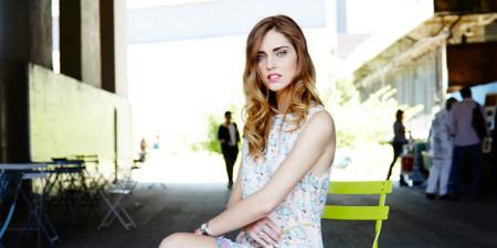 Chiara Ferragni in Au Jour le jour dress