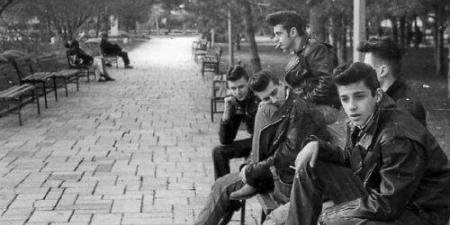 Greasers in NYC 1950s