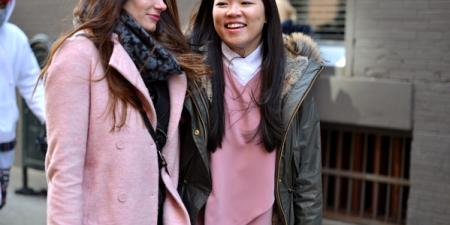 NY Fashion Week Pink Trend