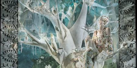 Bergdorf Holiday Window 2013 - Arbor Day