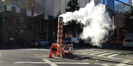 Manhattan steam vent