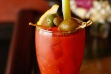 Bloody Chan: vodka, spiced san marzano D.O.P. tomato juice, horseradish, spicy pickle juice, sichuan pepper
