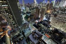Stunning Aerial View from Midtown Manhattan