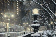 NYC Snowy Night