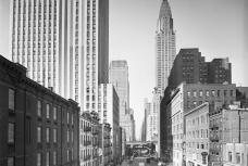 42nd street looking west from 2nd Avenue 1935