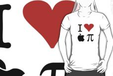I Love Apple Pie T-Shirt