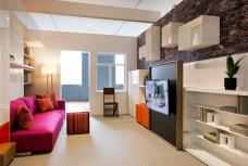 Interior Design of NY Micro-Units