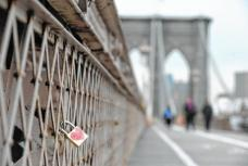 Love Padlocks on Brooklyn Bridge | freshNYC